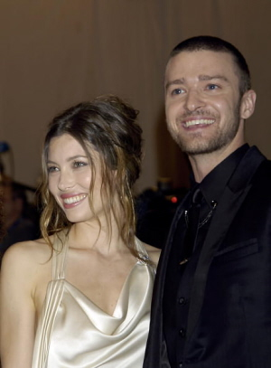 Justin Timberlake and Jessica Biel ©Ron Galella Collection-Getty Images