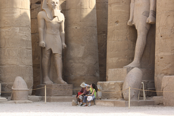Luxor Egypt by Susan Farewell